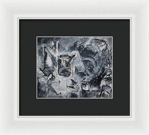 Push - Framed Print