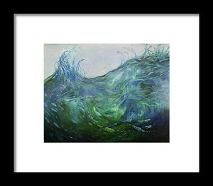 Splash - Framed Print