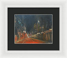Load image into Gallery viewer, Streets Of Passion - Framed Print