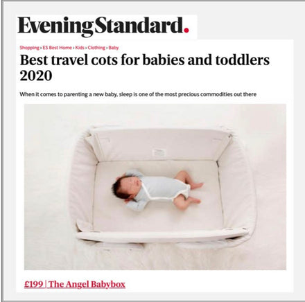 Evening Standards Best Baby and Toddler Travel Cot 2020