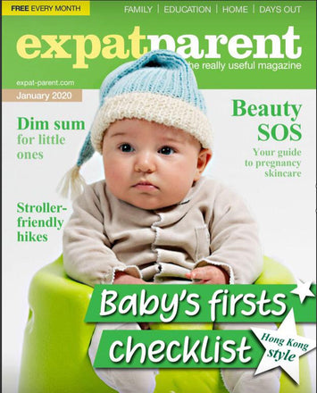 Thank you Expat Parent Magazine Hong Kong for listing us as on your checklist as Baby's First!