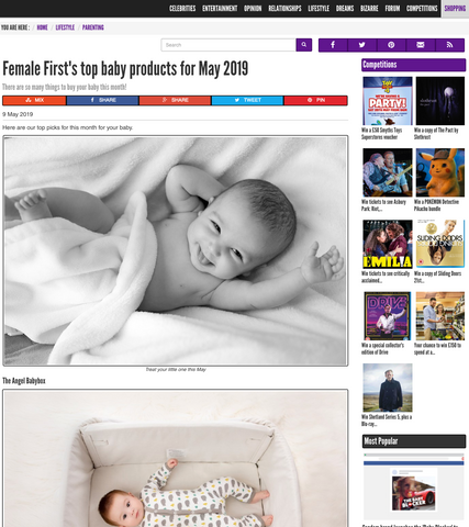Angel BabyBox is Female First's top baby products for May 2019