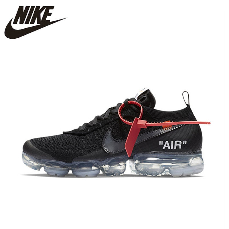 097bcda1f NIKE X Off White VaporMax 2.0 Authentic AIR MAX Breathable Men's Running  Shoes Sport Outdoor Sneakers