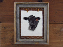 Load image into Gallery viewer, Angus No. 10 Cow: Original Felting