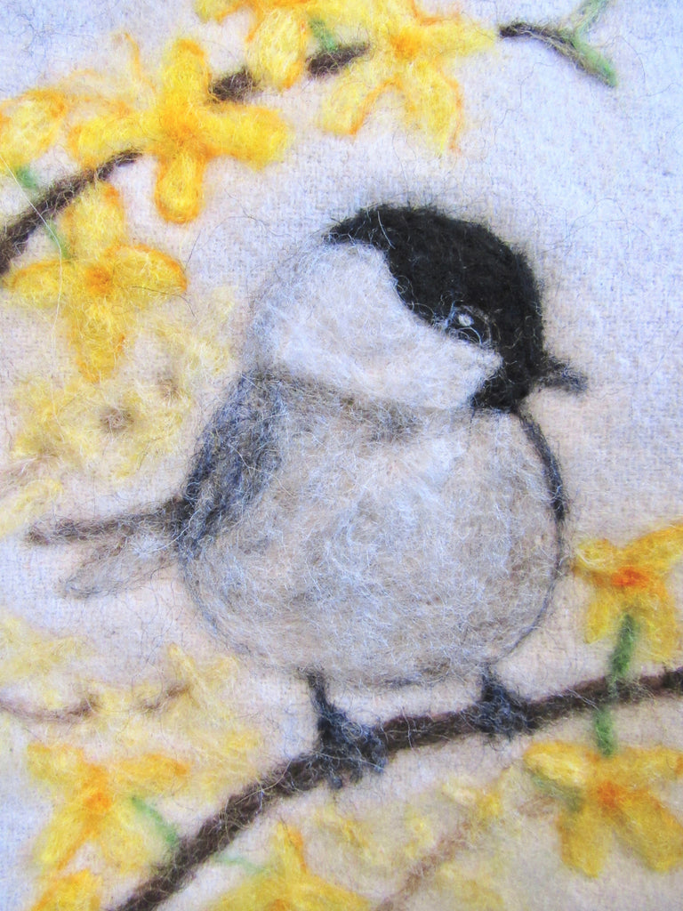 Black-Capped Chickadee Print 5x7""