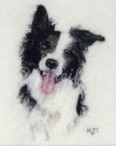 Border Collie Happiness Signed Print