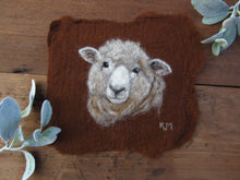 Load image into Gallery viewer, Romney Ewe Felting