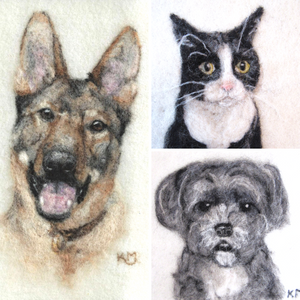 Custom Pet Portrait Reservation