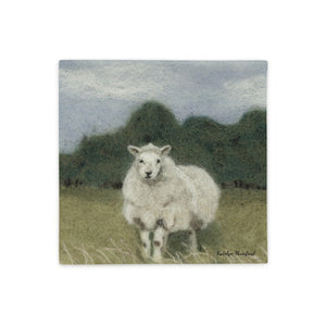 Sheep in Pasture Pillow Case