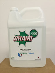 Wham! All Purpose Neutralizer Floor Salt Conditioner.