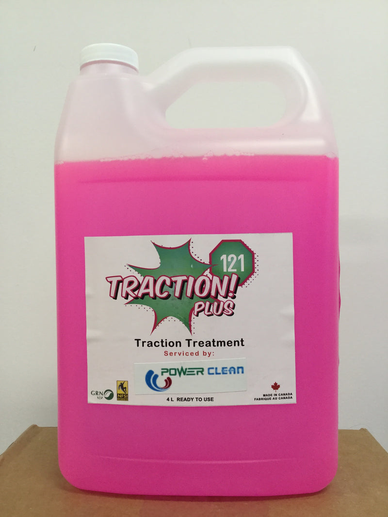 Traction! High Traction Cleaning Solution