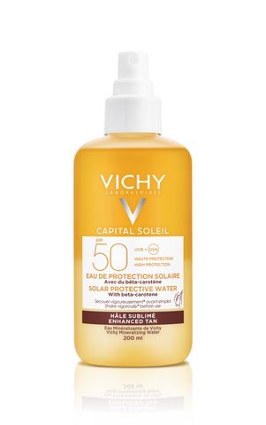 Vichy Capital Soleil Zonbeschermend water SPF50 - optimale bruin teint