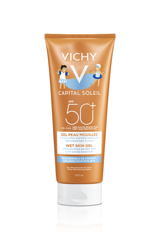 Vichy Capital Soleil Wet Skin Gel SPF50+ Kids