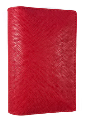 Saffiano Red