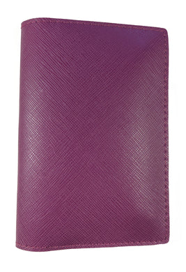 Saffiano Deep Purple