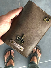 Load image into Gallery viewer, Vegan Leather Dark Brown