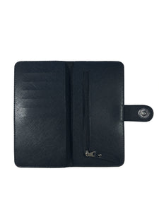 Saffiano Black Ladies Wallet