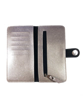 Load image into Gallery viewer, Saffiano Champagne Ladies Wallet