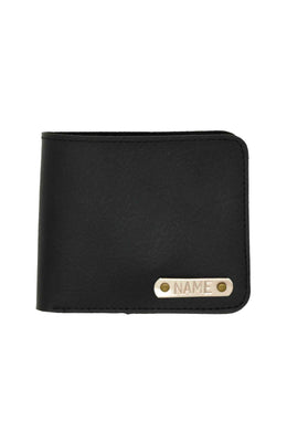 Vegan Leather Black Mens Wallet