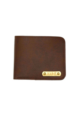 Vegan Leather Brown Mens Wallet