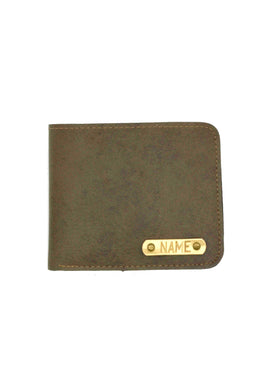 Vegan Leather Light Brown Mens Wallet