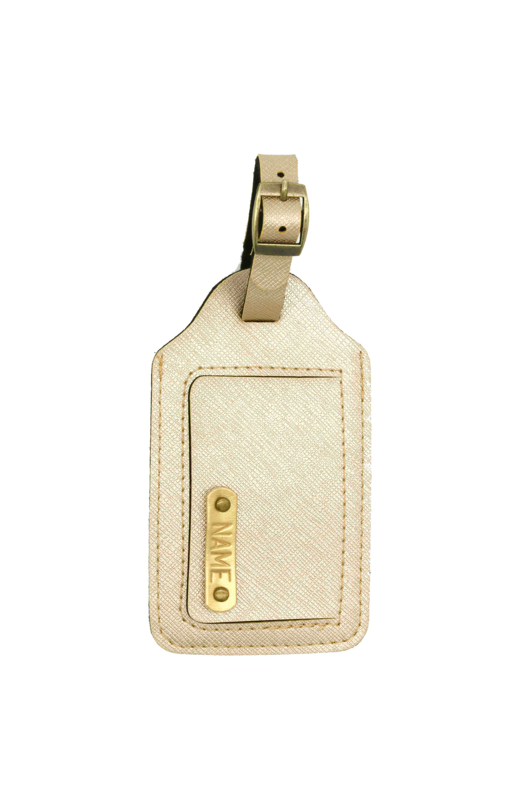 Luggage Tag Gold
