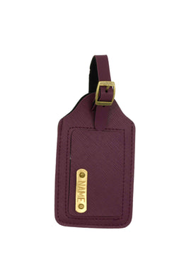 Luggage Tag Deep Purple