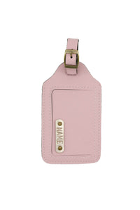 Luggage Tag Blush Pink