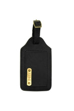 Load image into Gallery viewer, Luggage Tag Black