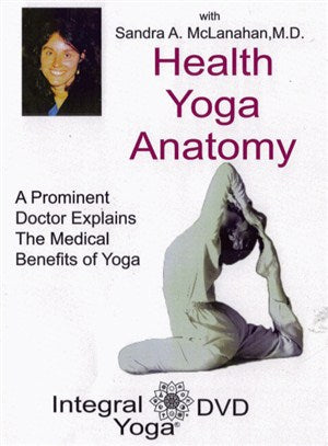 Health, Yoga & Anatomy - Sandra McLanahan, MD - DVD