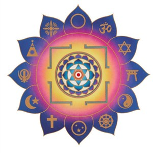 Integral Yoga Yantra - Color Prints