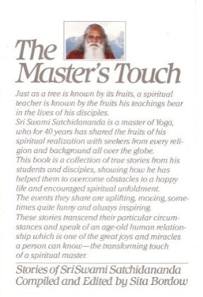 The Masters Touch: Stories of Sri Swami Satchidananda