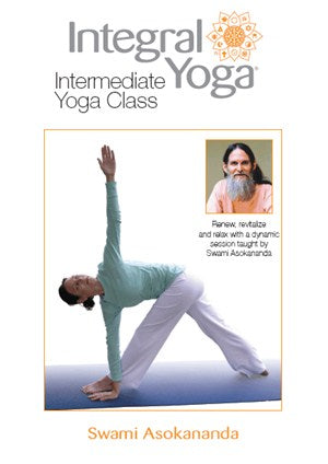 Intermediate Yoga Class with Swami Asokananda DVD