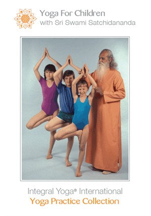 Yoga For Children with Swami Satchidananda DVD