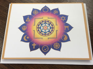 Yantra Note Card