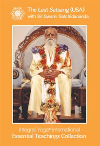 The Last Satsang (USA) DVD