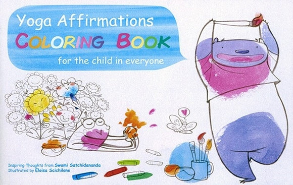 Yoga Affirmations Coloring Book