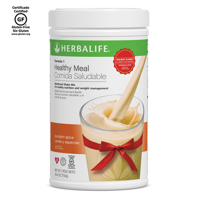 Pumpkin Spice - Formula 1 Healthy Meal Nutritional Shake Mix.