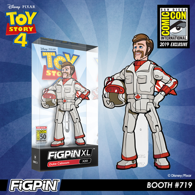 SDCC 2019 Exclusive Reveal: Disney and Pixar's Toy Story 4 - Duke Caboom FiGPiN XL!