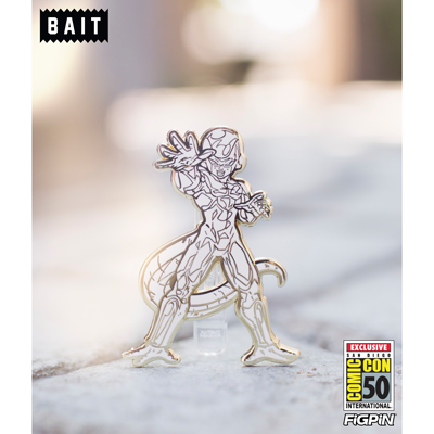 SDCC BAIT exclusive White & Gold Final Form Frieza FiGPiN!