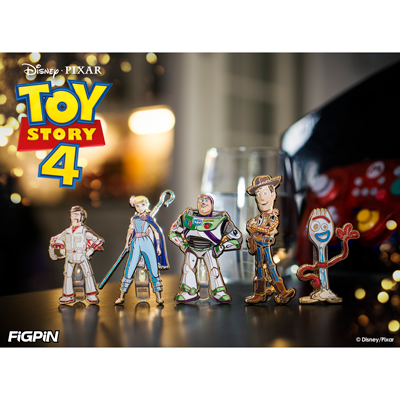 Disney and Pixar Toy Story 4 FiGPiN Collection Revealed!