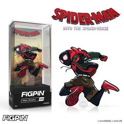 Spider-Man: Into the Spider-Verse's Miles Morales FiGPiN available for pre-order on July 9th!
