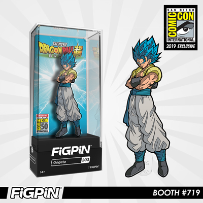 SDCC 2019 Exclusive Reveal: Dragon Ball Super: Broly - Gogeta FiGPiN!