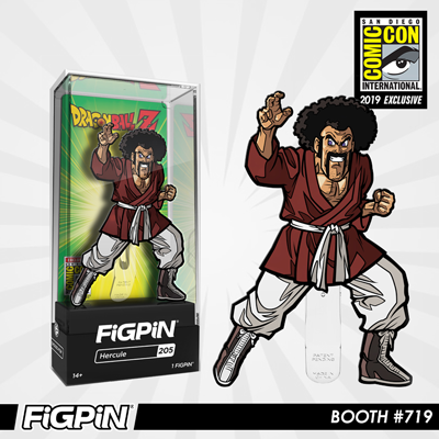 SDCC 2019 Exclusive Reveal: Dragon Ball Z - Hercule FiGPiN!