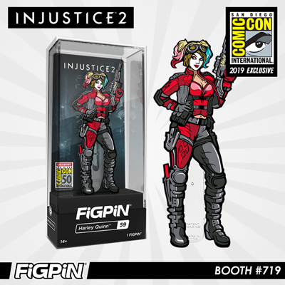 SDCC 2019 Exclusive Reveal: Injustice 2 - Harley Quinn™ FiGPiN!