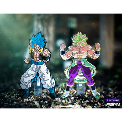 Funimation Exclusive Dragon Ball Super: Broly - Gogeta & Broly FiGPiN XL 2-pack at SDCC!