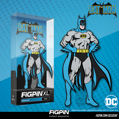 Coming soon exclusively to FiGPiN.com: Batman™ FiGPiN XL!