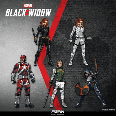 Marvel Studios' Black Widow FiGPiNs coming this May!