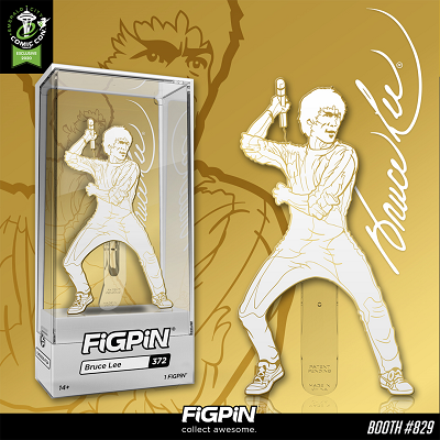 ECCC 2020: White & Gold Bruce Lee FiGPiN!