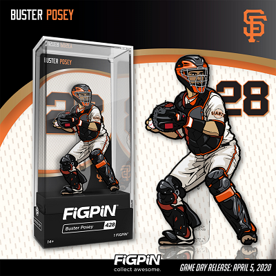 San Francisco Giants Buster Posey & Johnny Cueto FiGPiN Giveaway Games!